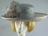 Walter Wright Bright blue silk occasion hat